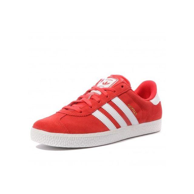adidas femme basket gazelle rouge