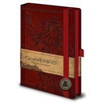 Game of Thrones - Le Trône de fer - Carnet de notes Premium A5 Lannister