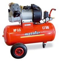 Mecafer - Compresseur 50L 3,5HP coaxial