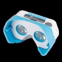 Iams - Casque de réalité virtuelle Plastic Vr - Bleu