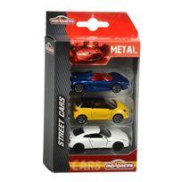 Majorette - Vehicule Miniature - 205227 00 - 3 Pieces Set - Modèle Aléatoire