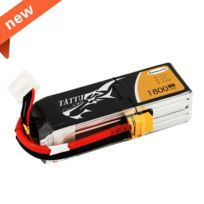 Tattu - 1800mAh 14.8V 75C 4S1P Lipo Battery PackSpecially Made for Victory with Limited Edition