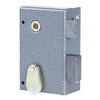 JPM - Serrure en applique à pêne dormant 1/2 tour - modele vertival - clé à chiffres SAS 147000-02-2A