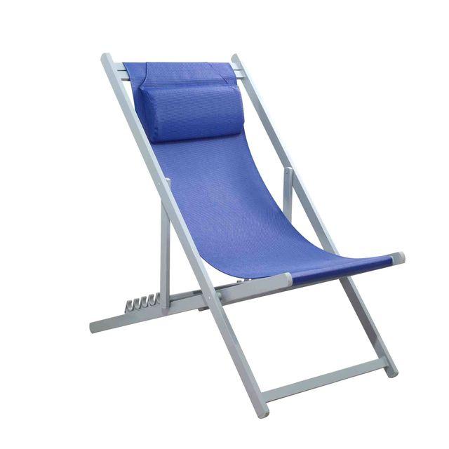 mobilier raineau chaise pliante en aluminium pas cher. Black Bedroom Furniture Sets. Home Design Ideas
