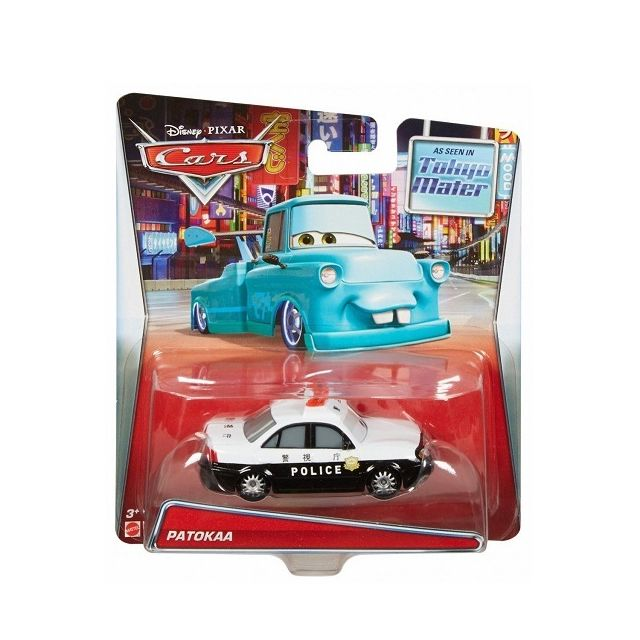 cars voiture disney patokaa tokyo mater vehicule de police miniature n 84 pas cher. Black Bedroom Furniture Sets. Home Design Ideas