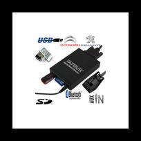 Auto-hightech - Adaptateur Interface Autoradio iPod AuxIlliaire Sd Usb Peugeot 207 206 307 308 Rcz 407 807 1007 3008 5008 Boxer Bipper