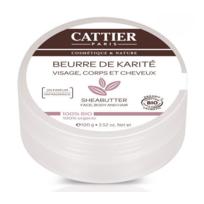 Cattier - Beurre de Karité Bio - visage corps cheveux