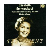 Testament - Elisabeth Schwarzkopf - Enregistrements inédits 1955-1964 - Lieder & mélodies