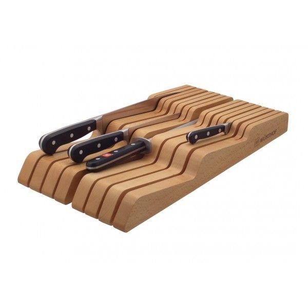 Wusthof Porte-couteaux pour tiroir - Pour 15 couteaux