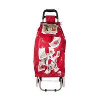 L'ENTRETEMPS - Chariot de shopping Ludik rouge