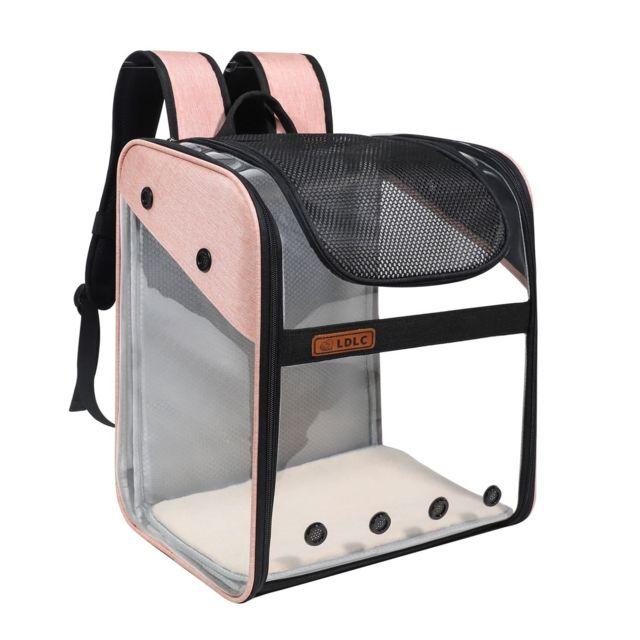 Generic Sac à dos transparent pour animaux de compagnie pour animaux de compagnie
