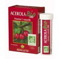 Phyto-actif - Acerola Bio 500 Vitamine C