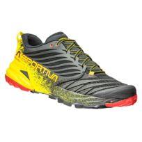 La Sportiva - Chaussures Trail Akasha Black / Yellow