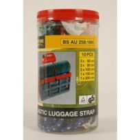Lifetime Tools - 50506 Lot De 10 Sangles Elastiques Pour Bagage