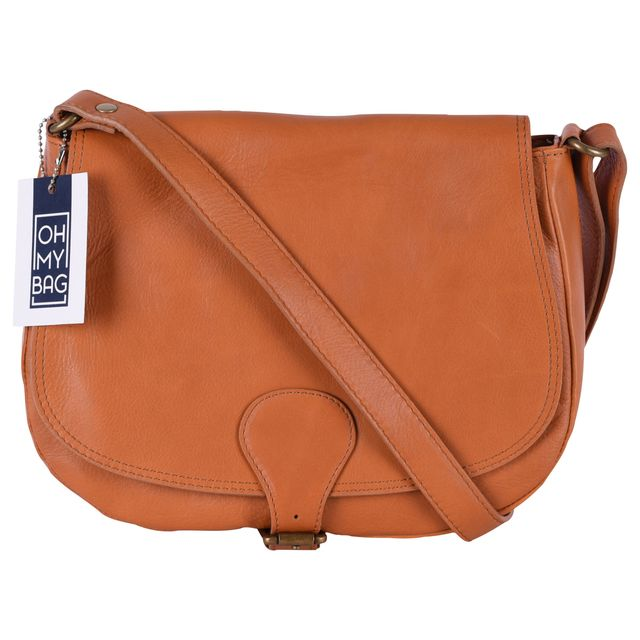 d113d5a5a5 Oh My Bag - Sac à main en cuir lisse Vintage - pas cher Achat ...