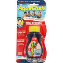 AQUACHEK - 50 bandelettes test pour brome - aquabr