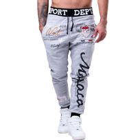 Cincjeans - Jogging tendance homme Jogging 595 gris Noir fashion