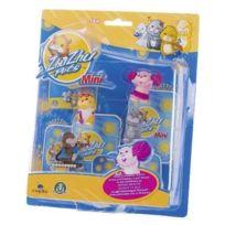 Zhu Zhu Pets - Pack de 4 mini figurines : Jilly- Patch- Num Num - Scoodles
