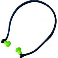 DELTA PLUS - Bouchons d'oreilles ronds reliés par arceau - SNR 20 DB - CONICMOVE01VE