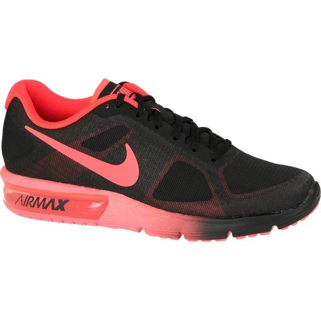 Nike Air Max 44 Sequent 719912 012 Noir 44 Max 1 2 Pas Cher Achat 5fecc4