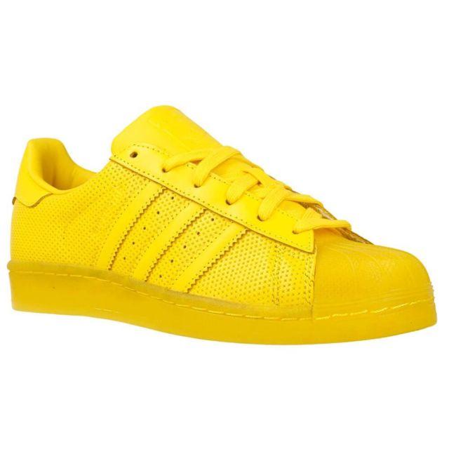 Adidas originals Superstar Adicolor Jaune pas cher Achat