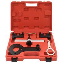 Icaverne - Outils à main famille Kit de calage du moteur 6 pcs pour Bmw  N63B44 V8 X5 X6 750 650