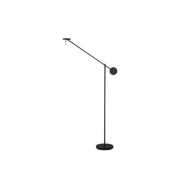 Grok Lampadaire Design Led Invisible H160 Cm Noir Pas Cher