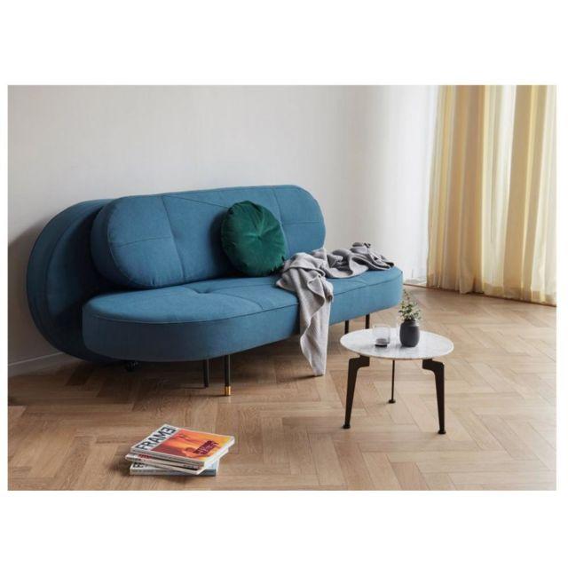 Inside 75 Innovation Living Canape design convertible Filuca tissu Elegance Petrol