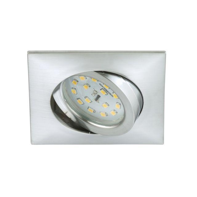 Briloner Leuchten Spot Led Encastrable Orientable Briloner Module 5W Ip23 Alu Carré
