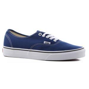 Vans Authentic Estate Blue/True White A38EMQ9W Bleu - Chaussures Baskets basses Femme