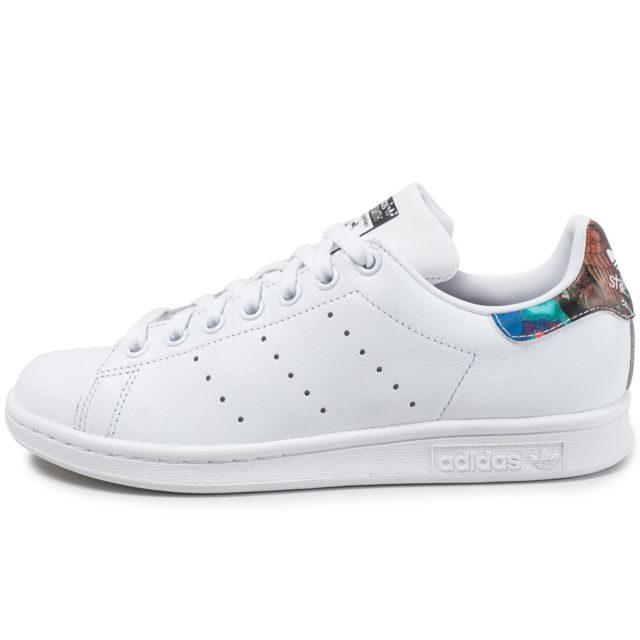 Adidas originals - Stan Smith The Farm Company Blanc - 41 1/3 - pas cher Achat / Vente Baskets femme - RueDuCommerce