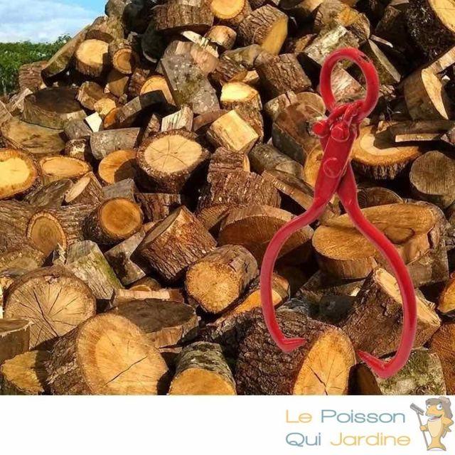 Le Poisson Qui Jardine Griffe à Bois Max, 680 kg Ou Pince Pour Soulever Tronc Et Grumes