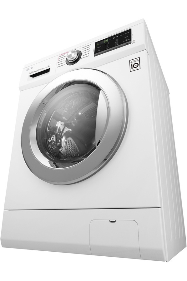 lg lave linge frontal s chant f854g63wr blanc achat lave linge hublot. Black Bedroom Furniture Sets. Home Design Ideas