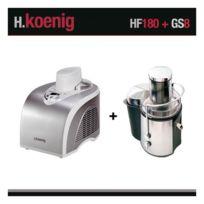 HKOENIG - Turbine à glace et centrifugeuse HF180 et GS8 H.Koenig HF180