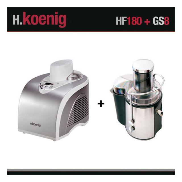 HKOENIG H.KOENIG HF180+GS8 TURBINE A GLACE ET CENTRIFUGEUSE