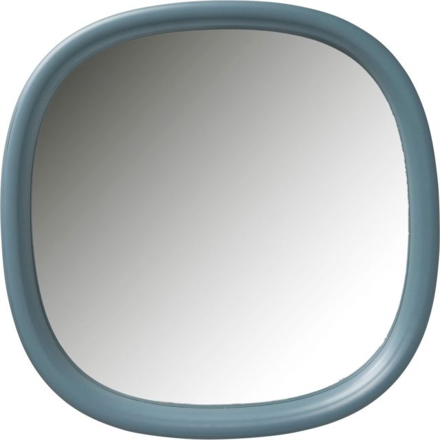 Karedesign Miroir Salto bleu-vert 100x100cm Kare Design