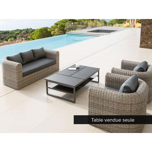 Hespéride - Table basse San Rafael pour salon de jardin ...