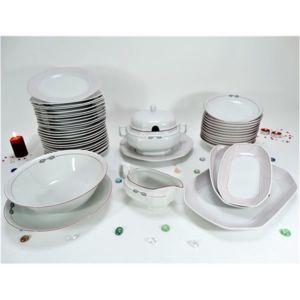 service de table 44 pieces porcelaine
