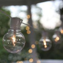 Star Trading - Party Light - Guirlande Led Extérieur Blanc 16 Ampoules L9,5m - Luminaire d'extérieur Best Season designé par