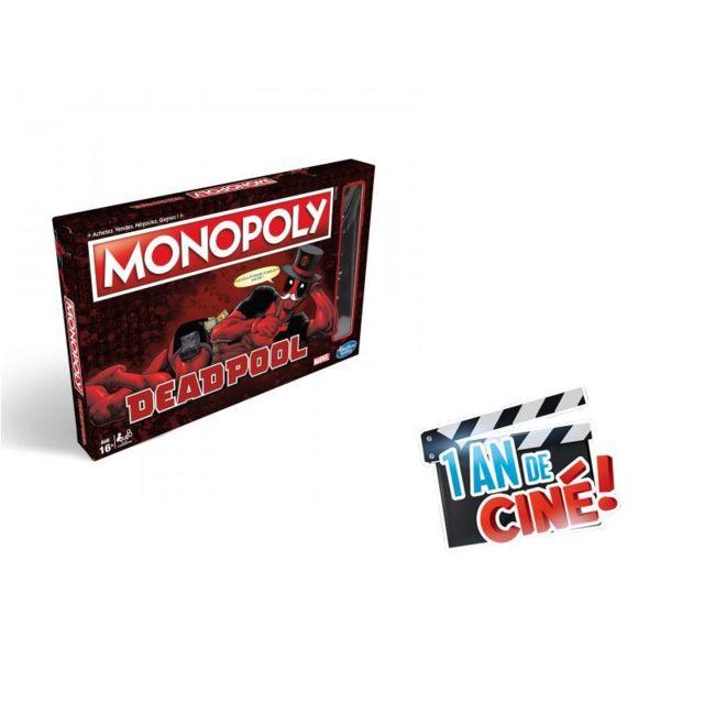 HASBRO GAMING - Monopoly Deadpool - E20331010