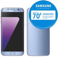 Galaxy S7 Edge Bleu