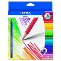 Lyra - Osiris Colouring Coloris-triangulaires IndÉLÉBILES Shape Anti-break Leads-portefeuille De 24