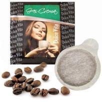 DOLCE VITA - pack de 100 dosettes de café e.s.e 60% arabica - gran crema ese x100