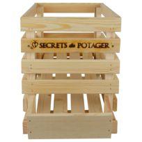 ESSCHERT DESIGN - Caisse à oignons en bois