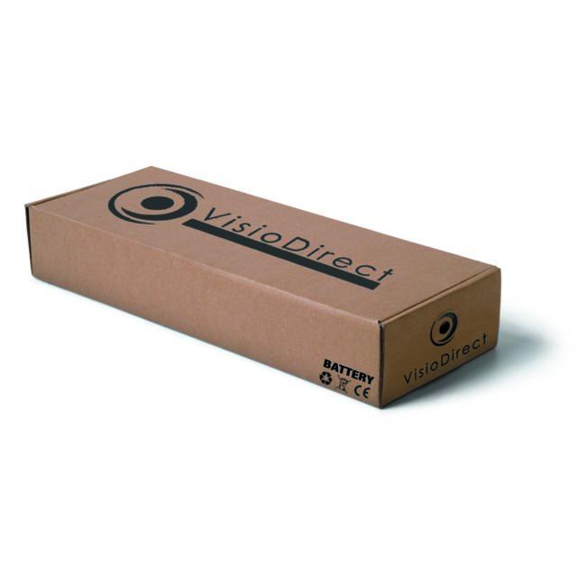 Batterie pour ordinateur portable TOSHIBA Satellite T110-11V 6600mAh 10.8V