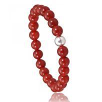 Bijoux en Vogue - Bracelet Élastique Rouge