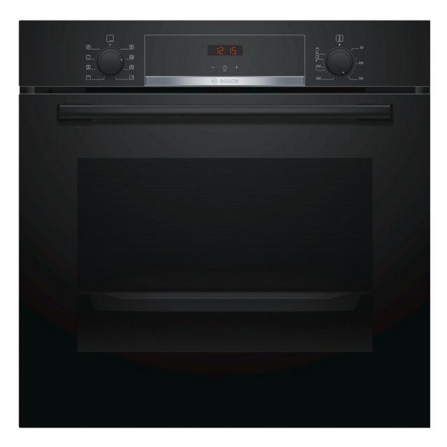 Bosch four intégrable 71l 60cm a ecoclean noir - hba553ba0