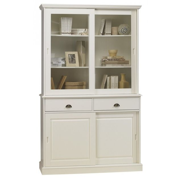 Beaux Meubles Pas Chers Vaisselier Blanc Bibliotheque Blanche 4
