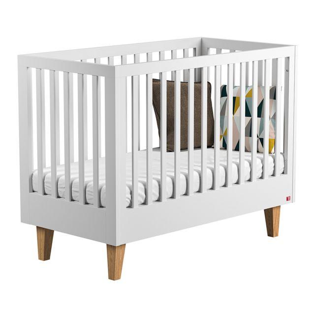 Vox Lit bébé 60x120 Lounge - Blanc