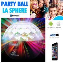 Ws - La sphère Party Ball enceinte Led Bluetooth